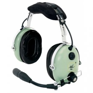 David Clark aviation headset