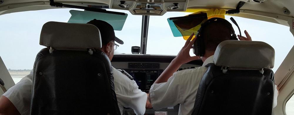 Enrolling in a flying school